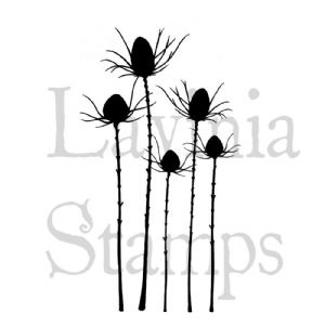Silhouette Thistle - Lavinia Stamps (LAV411)